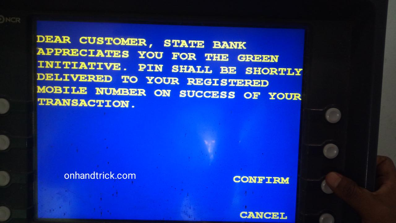sbi new atm card debit card ka pin kiase banaye  onhandtrick
