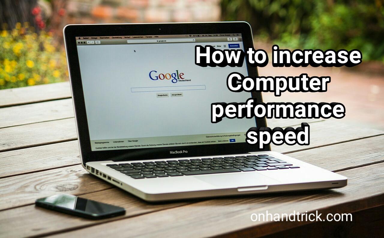computer speed kaise badhaye