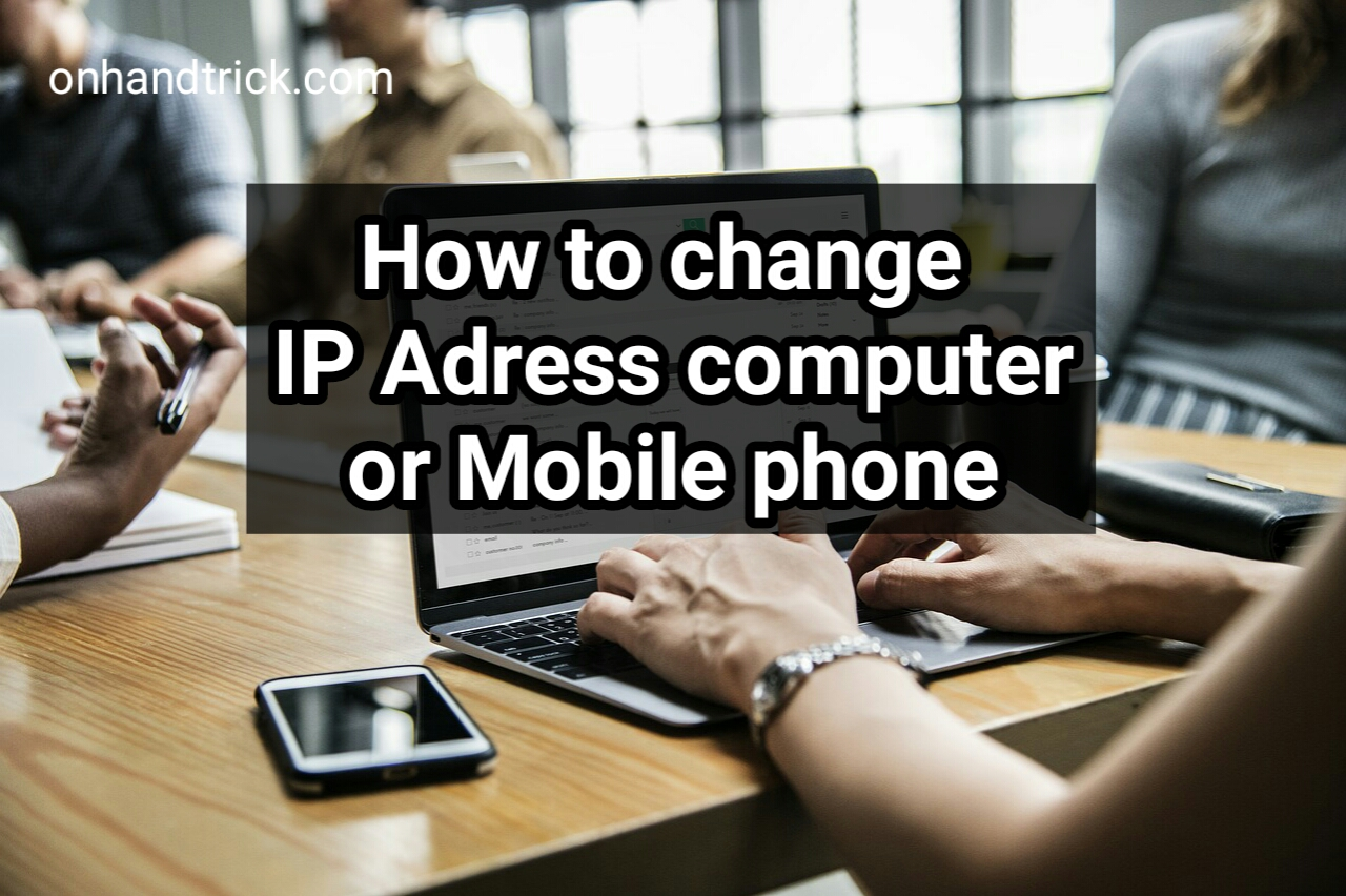 Computer,Mobile ka IP Adress Change Or Hide Kaise Kare
