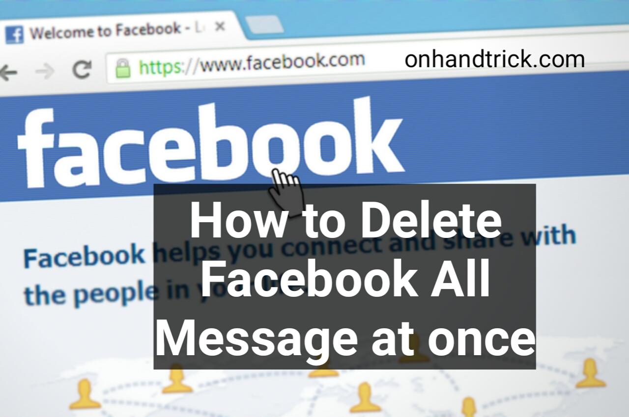 Facebook Par All Message Kaise Delete Kare Ek Sath Me