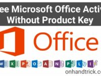 free Microsoft Office Active kaise kare without Product key