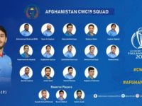 Afghanistan Team player list forf world cup 2019