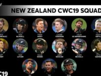 New Zealand Team player list for world cup